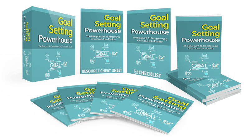 Goal Setting Powerhouse Sales Funnel with Master Resell Rights