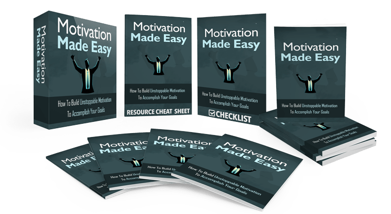 Motivation Made Easy Sales Funnel with Master Resell Rights