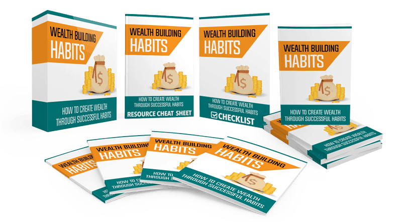 Wealth Building Habits Sales Funnel with Master Resell Rights