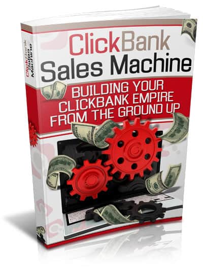 ClickBank Sales Machine Ebook with Master Resell Rights