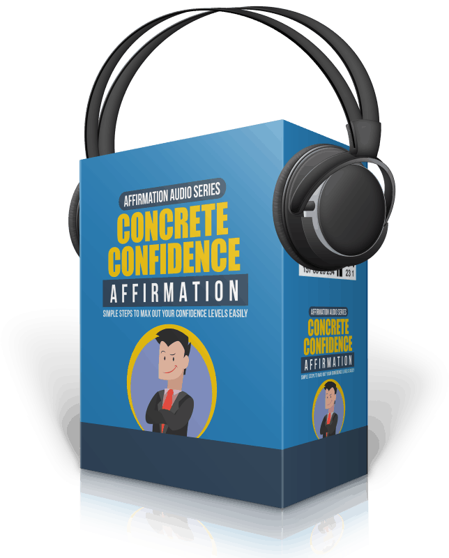 Concrete Confidence Affirmation Expansion Audios with Master Resell Rights