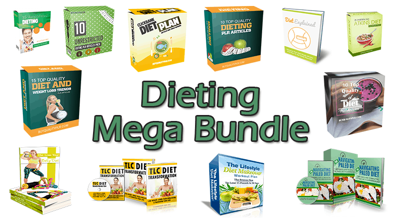Dieting Mega Bundle (Over 70% Discount)