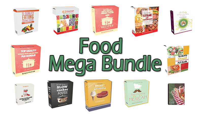 Food Mega Bundle (Over 70% Discount)