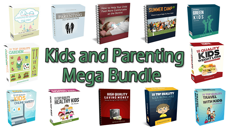 Kids and Parenting Mega Bundle (Over 70% Discount)