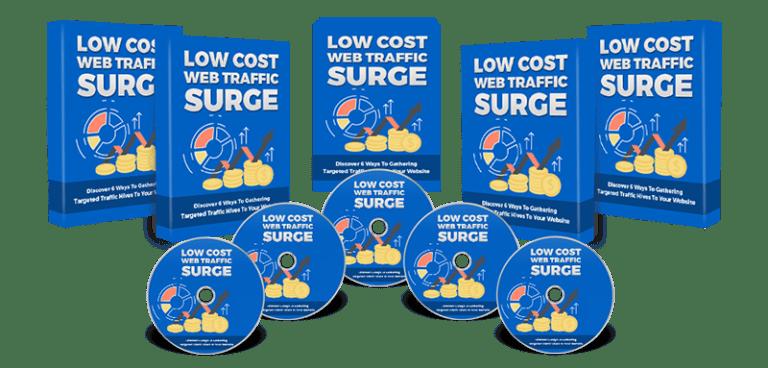 Low Cost Web Traffic Surge PLR eBook