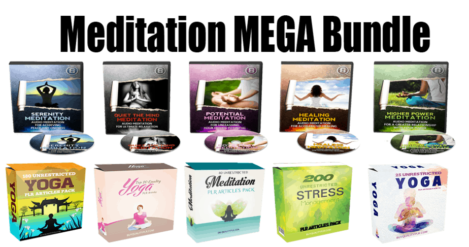 Meditation Mega Bundle (Over 70% Discount)