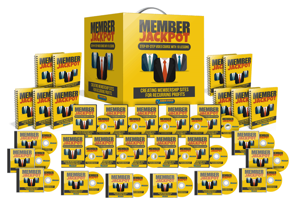 Member Jackpot Video Series with Master Resell Rights