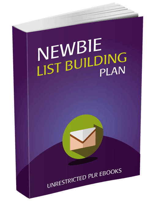 Newbie List Building Plan Unrestricted PLR eBook