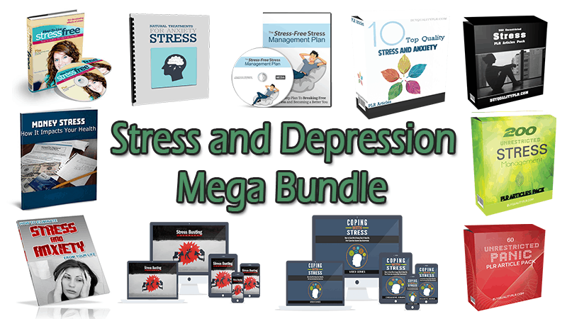 Stress and Depression Mega Bundle