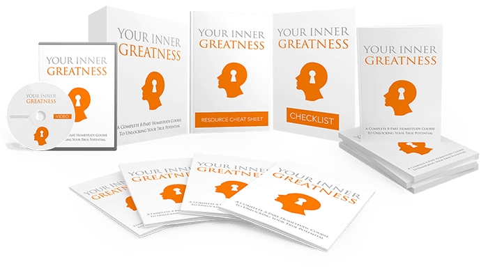 Your Inner Greatness Sales Funnel with Master Resell Rights