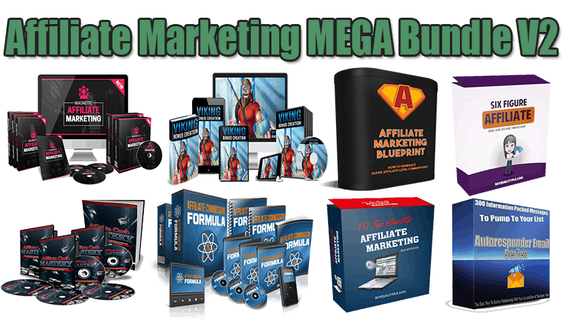 Affiliate Marketing Mega Bundle V2 (Over 70% Discount)