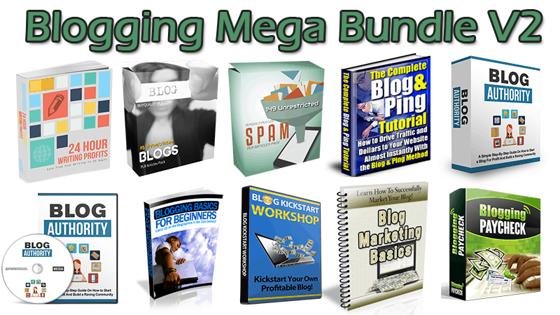Blogging Mega Bundle V2