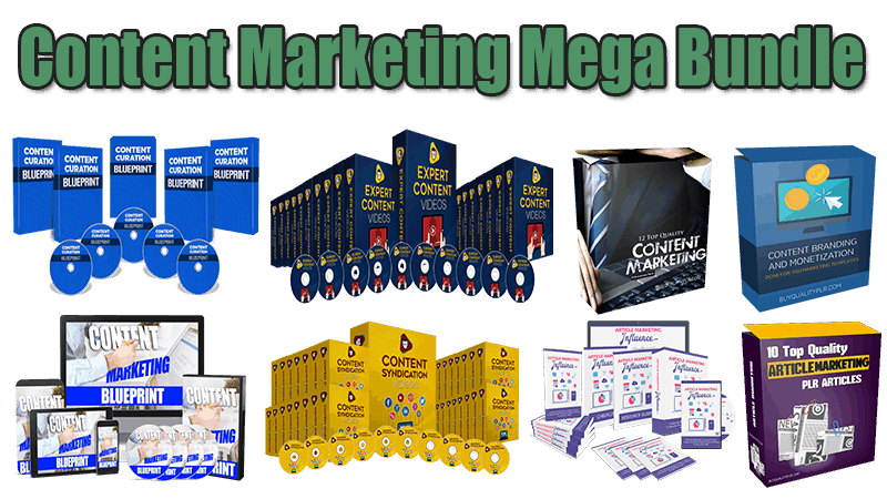 Content Marketing Mega Bundle (Over 70% Discount)
