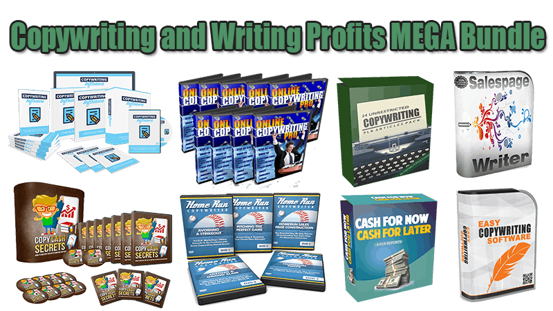 Copywriting and Writing Profits Mega Bundle