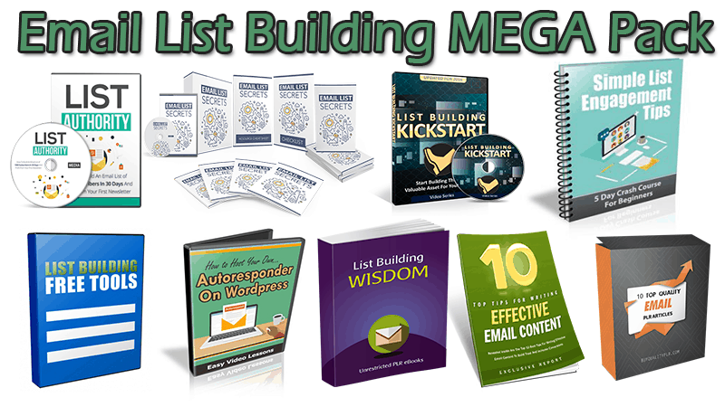 Email List Building MEGA Pack