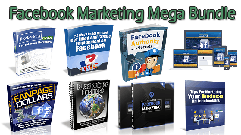 Facebook Marketing Mega Bundle (Over 70% Discount)