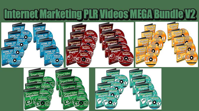 Internet Marketing PLR Videos Mega Bundle V2