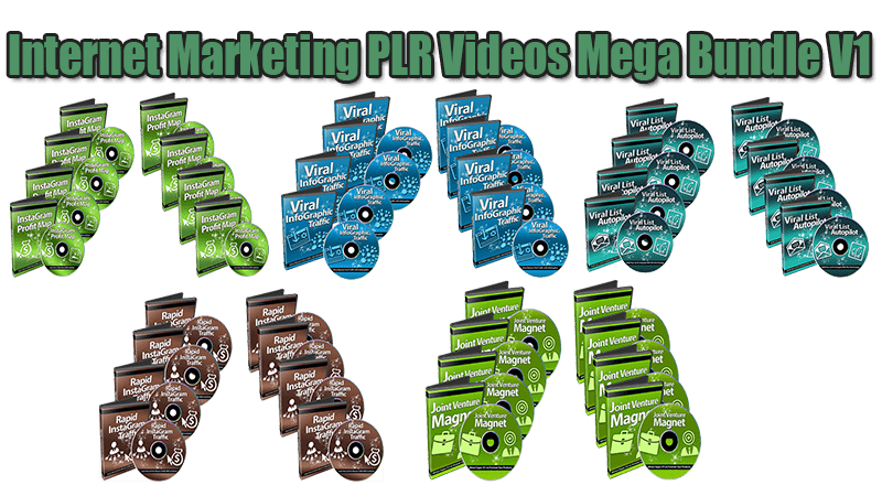 Internet Marketing PLR Videos Mega Bundle V1