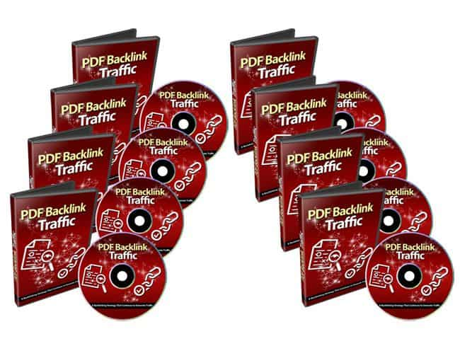 PDF Backlinks Traffic PLR Videos
