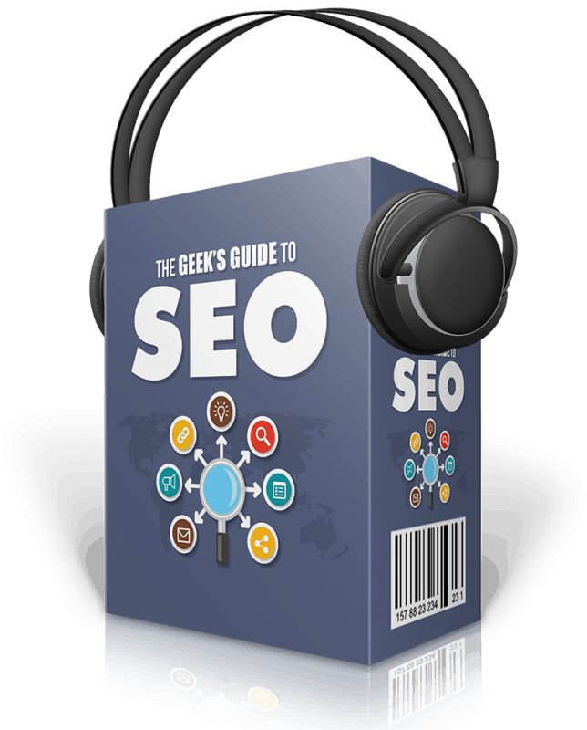 The Geeks Guide to SEO Audio Course with Master Resell Rights