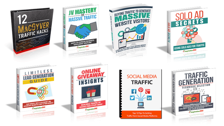 11 Traffic Master Resell Rights eBooks Pack