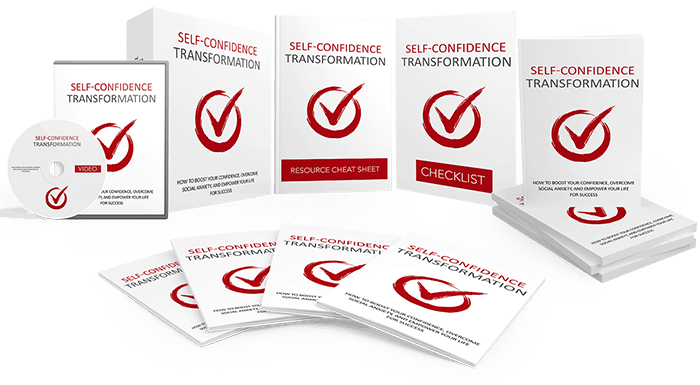 Self Confidence Transformation Sales Funnel with Master Resell Rights