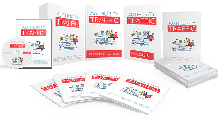 Authority Traffic Sales Funnel with Mater Resell Rights
