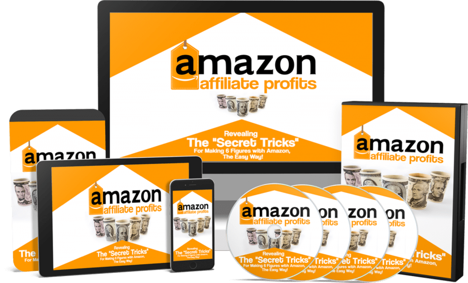 Amazon Affiliate Profits Sales Funnel with Mater Resell Rights