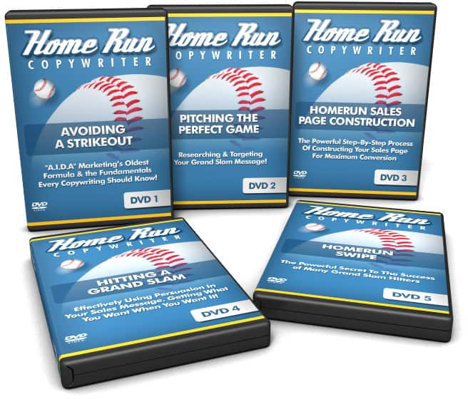 Home Run Copywriters Video Series With Basic Resale Rights