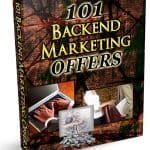 101 Backend Marketing Offers Unrestricted PLR eBook