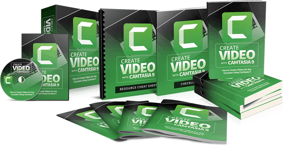 Create Video With Camtasia Sales Funnel with Resell Rights