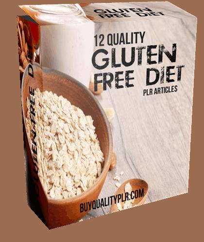 12 Quality Gluten-Free Diet PLR Articles