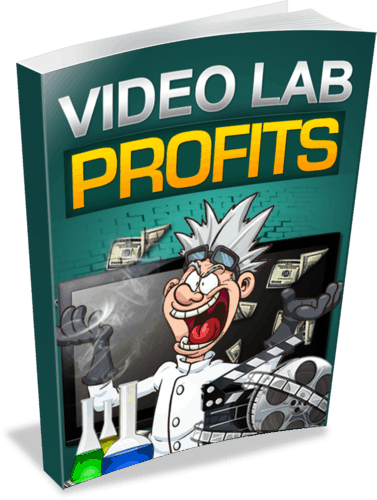 Video Lab Profits Unrestricted PLR eBook