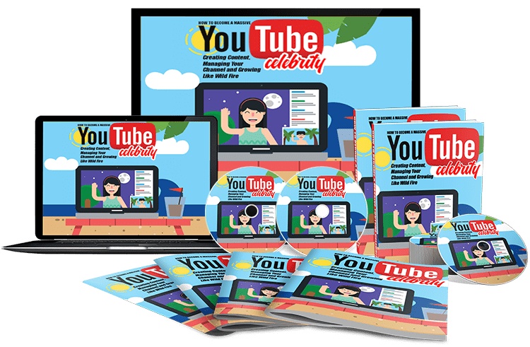 YouTube Celebrity Sales Funnel with Master Resell Rights