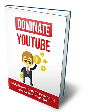 Dominate YouTube Ebook With Master Resell Rights