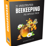 25 Unrestricted Beekeeping PLR Articles Pack