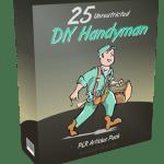 25 Unrestricted DIY Handyman PLR Articles Pack