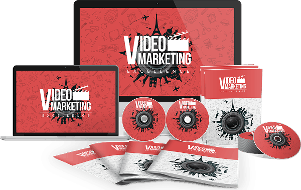 Video Marketing Excellence Sales Funnel with Master Resell Rights