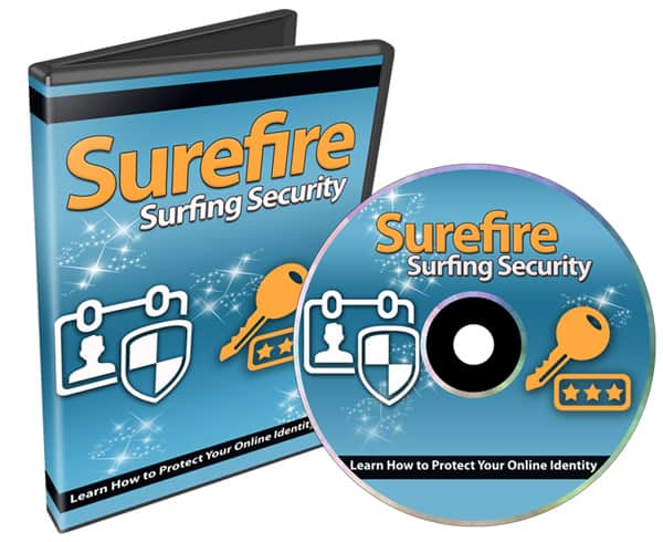 Surefire Surfing Security PLR Videos