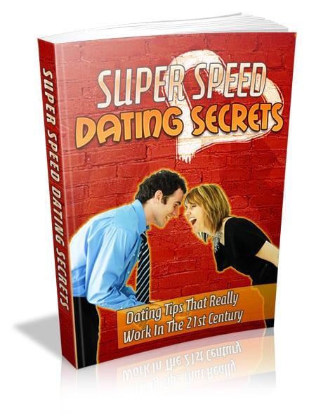 Super Speed Dating Secrets PLR Ebook