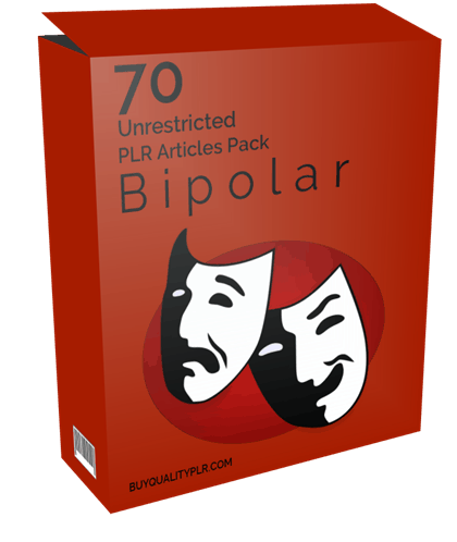 70 Unrestricted Bipolar PLR Articles Pack