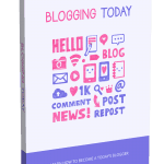 Blogging Today PLR eBook and Squeeze Page
