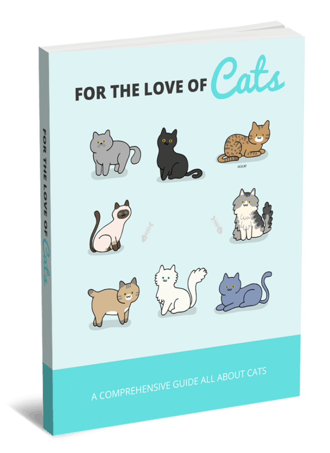 For The Love Of Cats PLR eBook and Squeeze Page