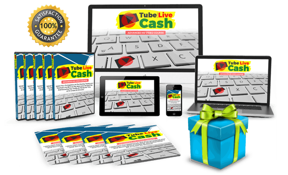 Tube Live Cash Sales Funnel with Master Resell Rights