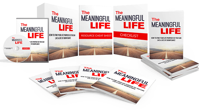 The Meaningful Life Sales Funnel with Master Resell Rights