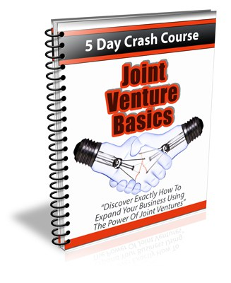 Joint Venture Basics PLR Newsletter eCourse