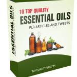10 TOP QUALITY ESSENTIAL OILS PLR ARTICLES AND TWEETS
