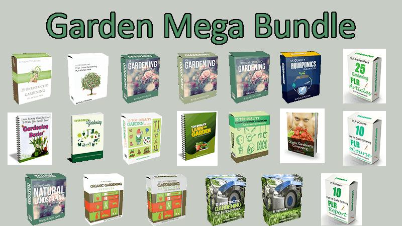 Gardening Mega Bundle