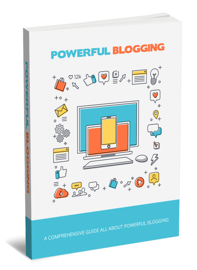 Powerful Blogging PLR eBook and Squeeze Page