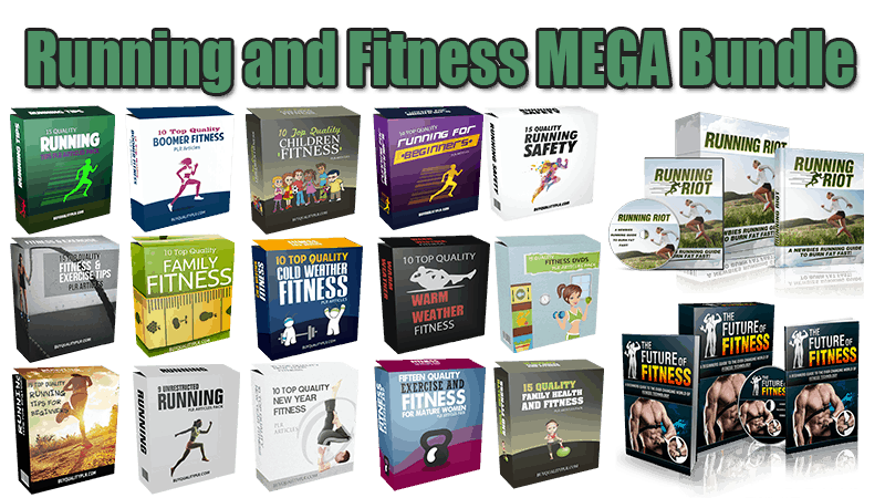 Running and Fitness MEGA Bundle